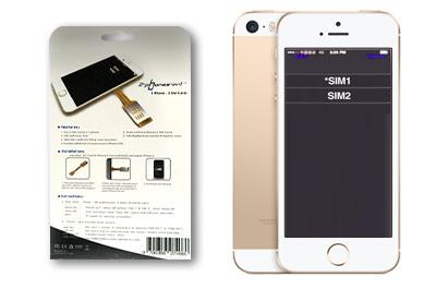 Iphone Se Sim Karte.Dual Sim Adapter Für Jedes Handy Von 2 Phones In 1 Kaufen