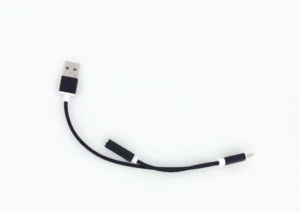 Lightning zu USB und Headphone Adapter