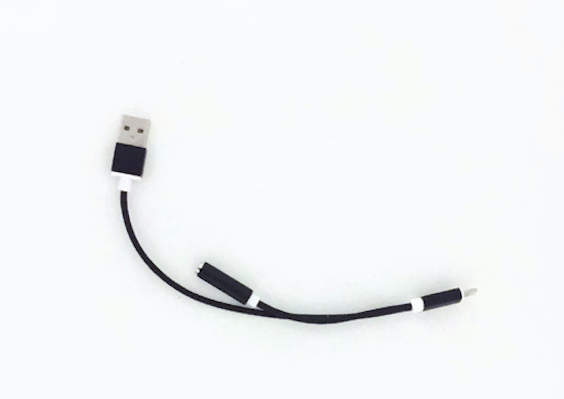 Lightning zu USB und Headphone Adapter