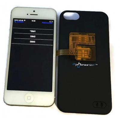 Triple SIM Adapter iPhone 5 und 5S